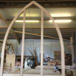 oak gothic window