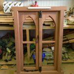 oak gothic window 5