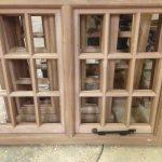 oak window