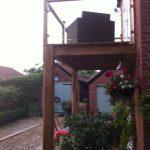 oak balcony