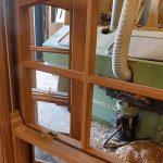 oak box sash windows