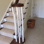 oak timber stairs