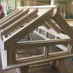roof window frame