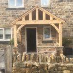 Green Oak Porch - The Oak Workshop